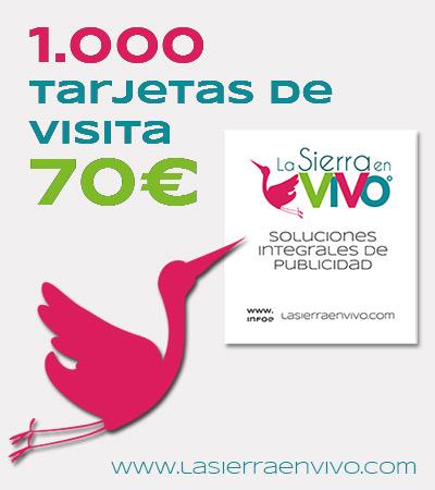 diseño e impresión tarjetas visita sierra Madrid