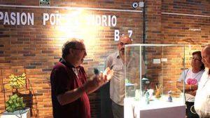exposición vídrio Blasco y Zamora Valdemorillo